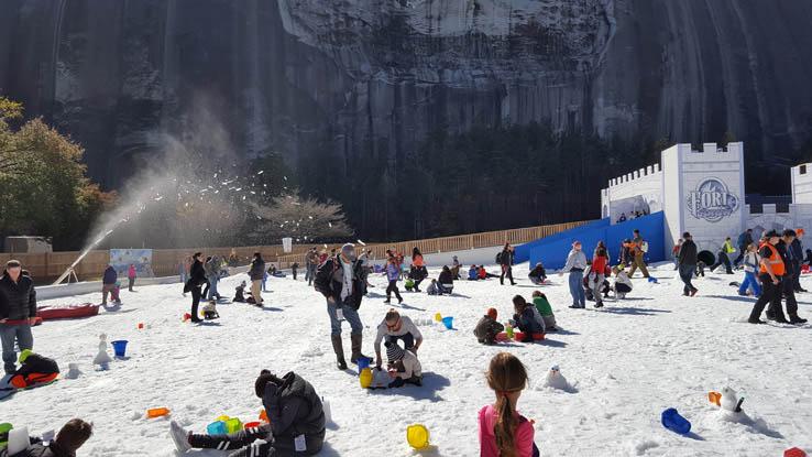 Snow Zone at Snow Mountain.