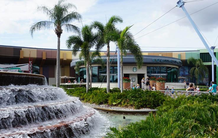 Fountain View Cafe, EPCOT, Walt Disney World