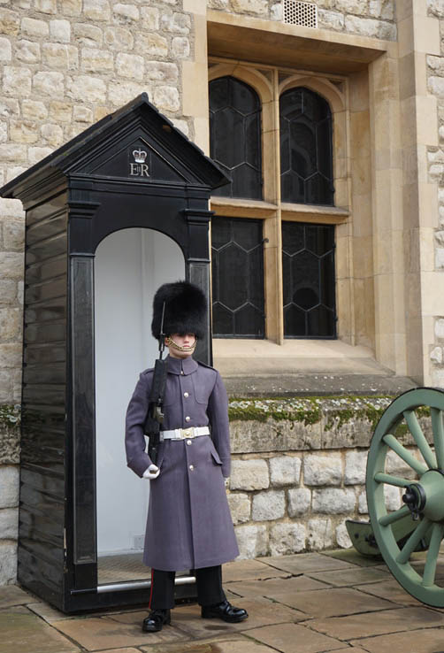 Guarding the Crown Jewels at the Tower of London