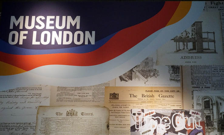 Museum of London sign
