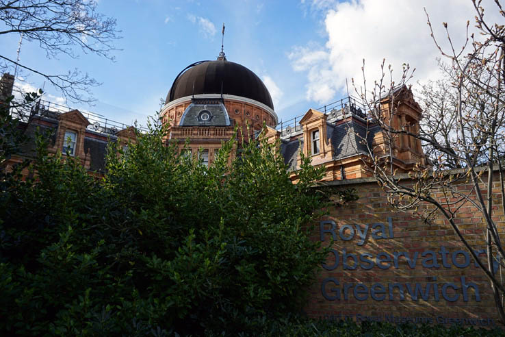 Royal Observatory and Planetarium in Greenwich, England