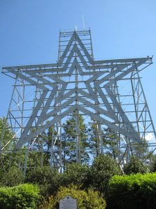 Roanoke Star, on top of Mill Mountain in Roanoke, Virginia