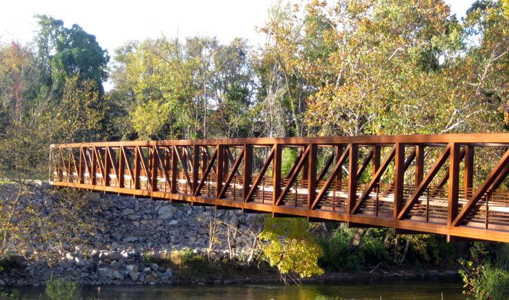 Bridge over the Roanoke River, Wasena Park, Roanoke, Virginia