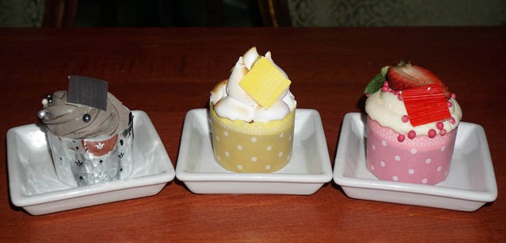 Cupcakes available at Be Our Guest Restaurant at Magic Kingdom at Disney World