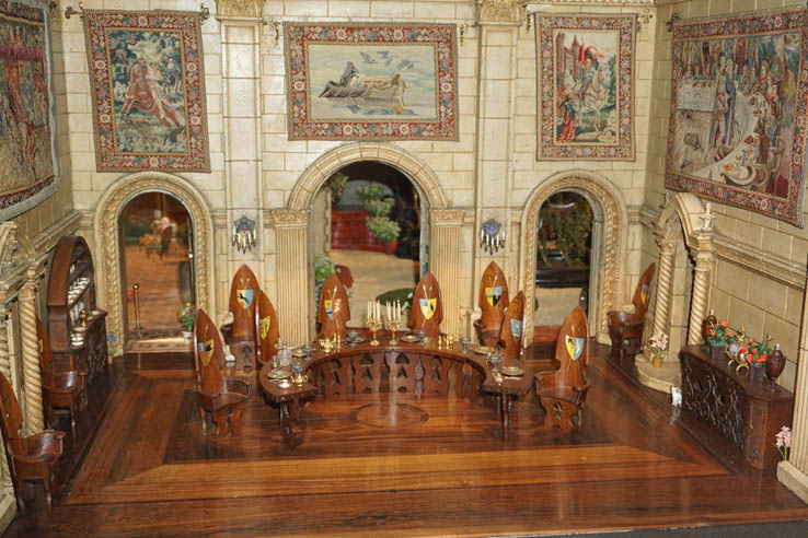 Fairy Tale Castle, Museum of Science and Industry, Chicago.